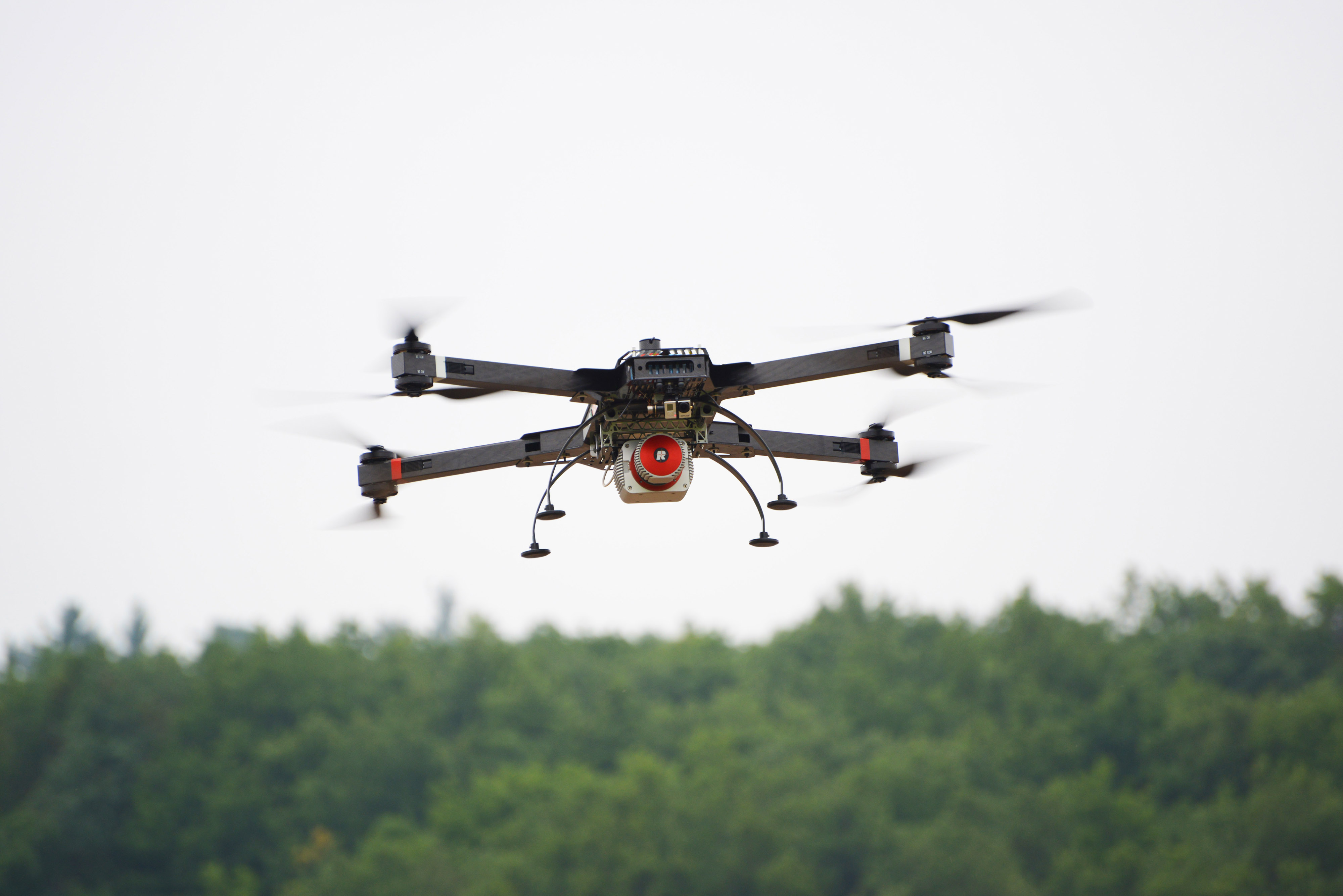 RIEGL USA's RiCOPTER Unmanned Scanning Platform is Designed for a