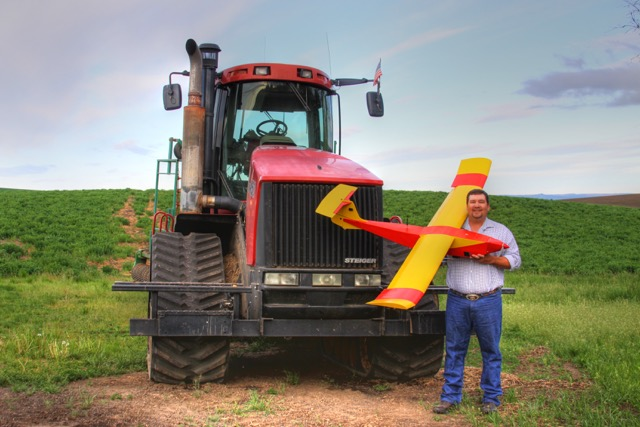 Farmer Robert Blair. Blair Farms is now a partner in Empire Unmanned Aviation.Photo courtesy Blair Farms.
