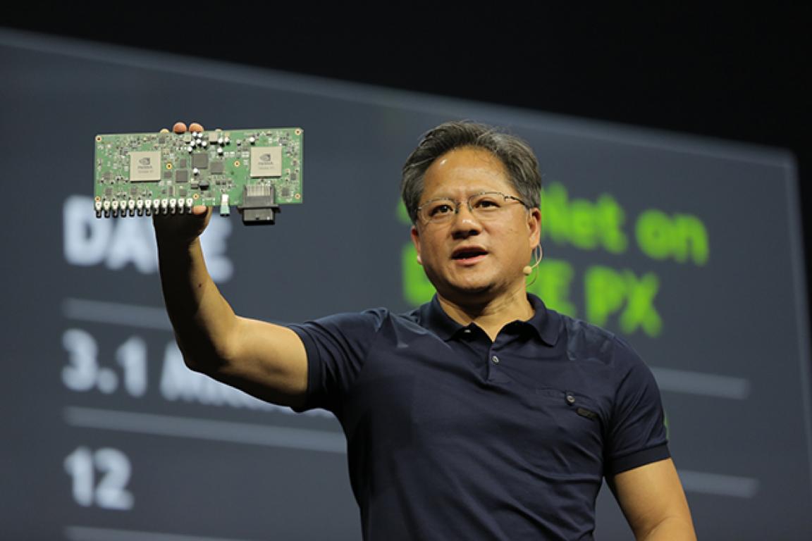 NVIDIA DRIVE PX's twin Tegra X1 processors deliver 2.3 teraflops of power.