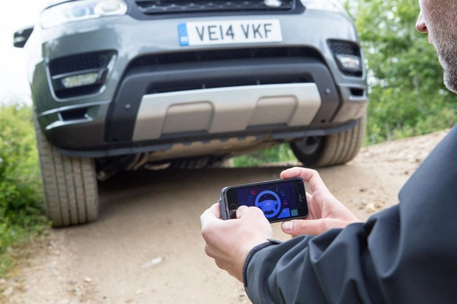 Jaguar Land Rover showcase a remote control Range Rover Sport. Jaguar Land Rover