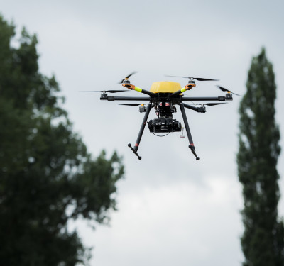 Trimble drone pilot training camp