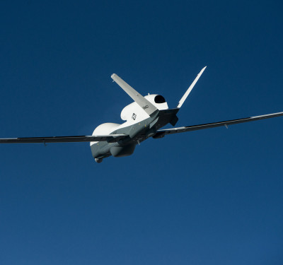 Triton unmanned aircraft system completed its first flight May 22, 2013