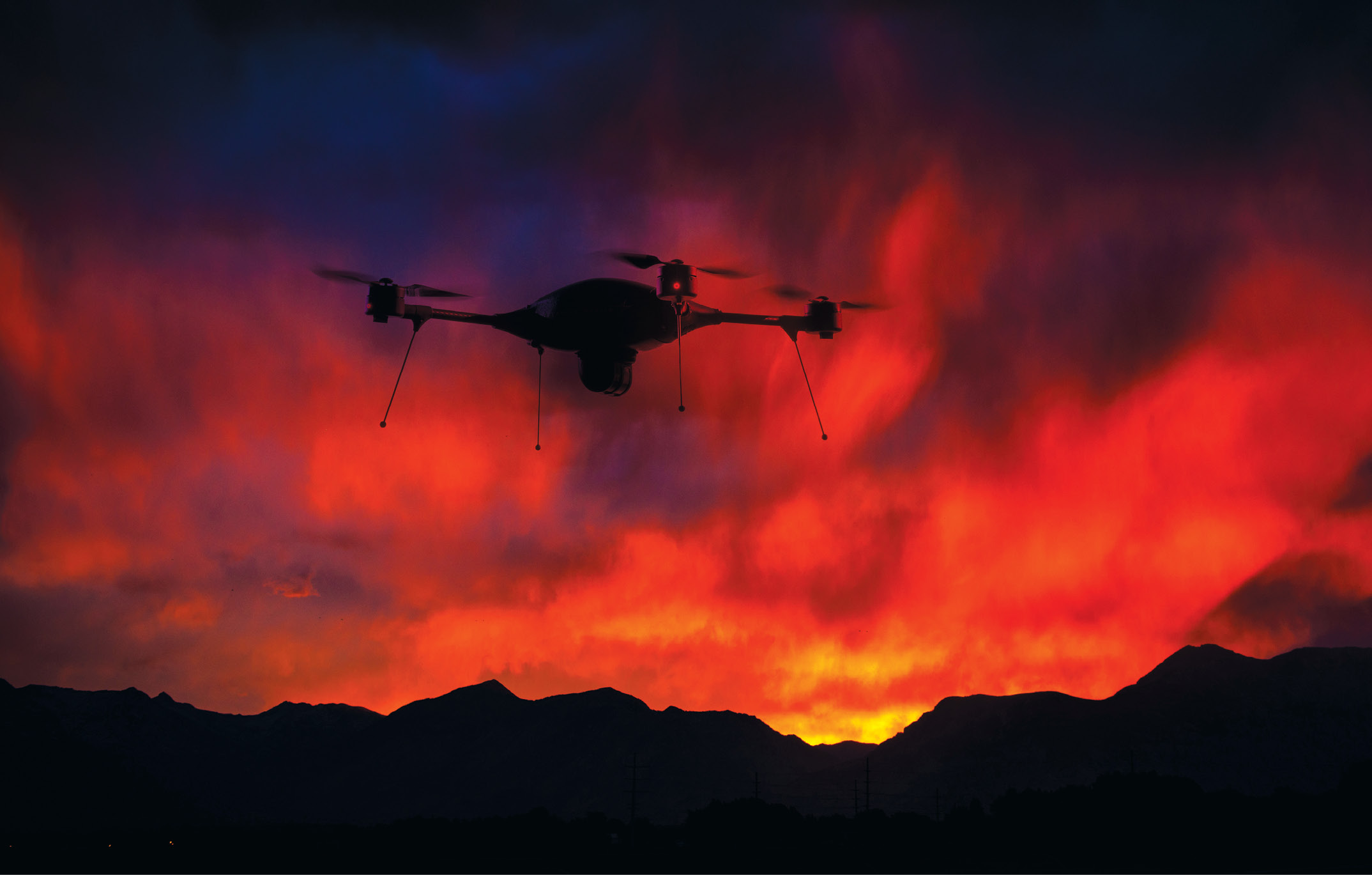 The Indago quadcopter has been used for firefighting in Australia.Lockheed Martin