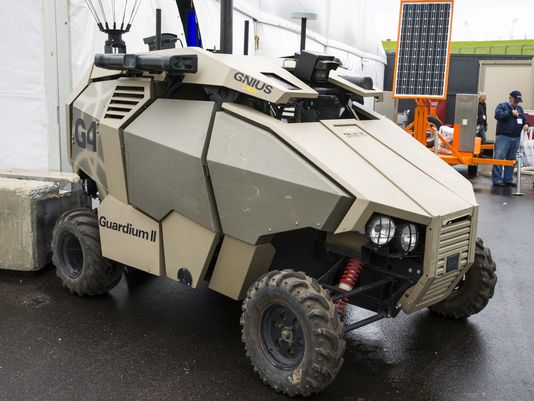 Israel Outlines Unmanned Systems Plans