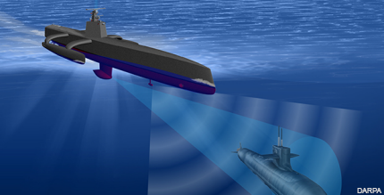 Pentagon prepares to test its underwater sub-hunting drone