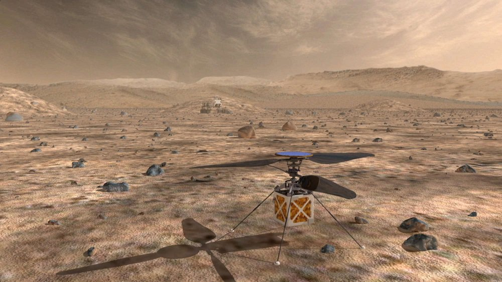 Helicopter drone may serve as scout for Mars 2020 rover