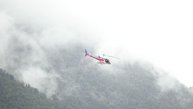 Fox Glacier drone survey completed