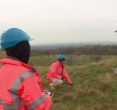 Drones Monitoring Methane Emissions from UK Landfill