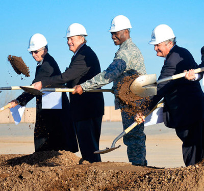 General Atomics breaks ground on $2.5 million drone academy in Grand Forks