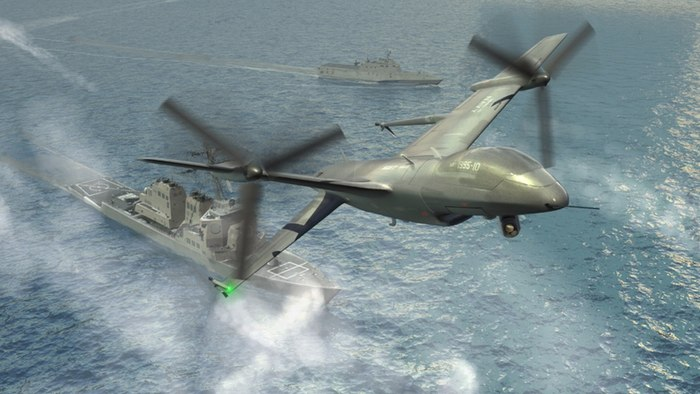 Northrop Grumman set to develop tail-down UAV for DARPA's Tern program