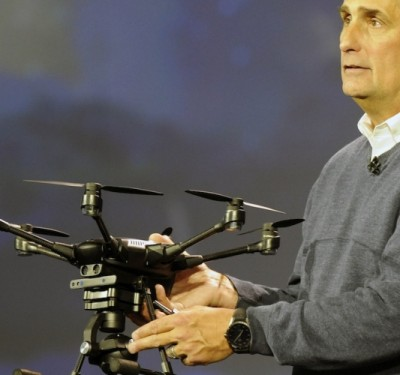 Chipmaker Intel Upgrades Presence in Small Drone Industry