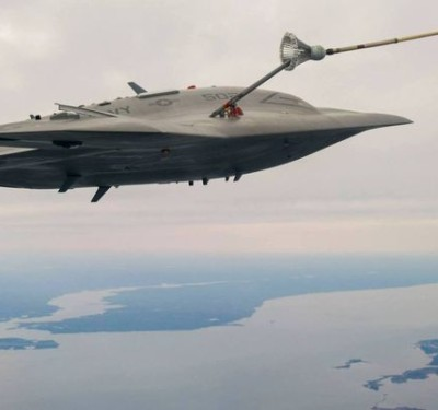 US Navy's Unmanned Jet Could Be a Tanker