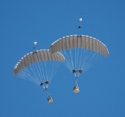 Military Tests Robo-Parachute Delivery Needing No GPS