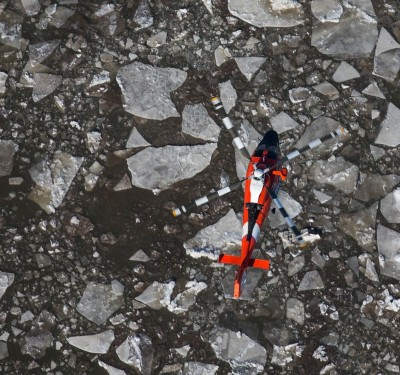 The Coast Guard Wants to Use Drones to Navigate Ice in the Great Lakes