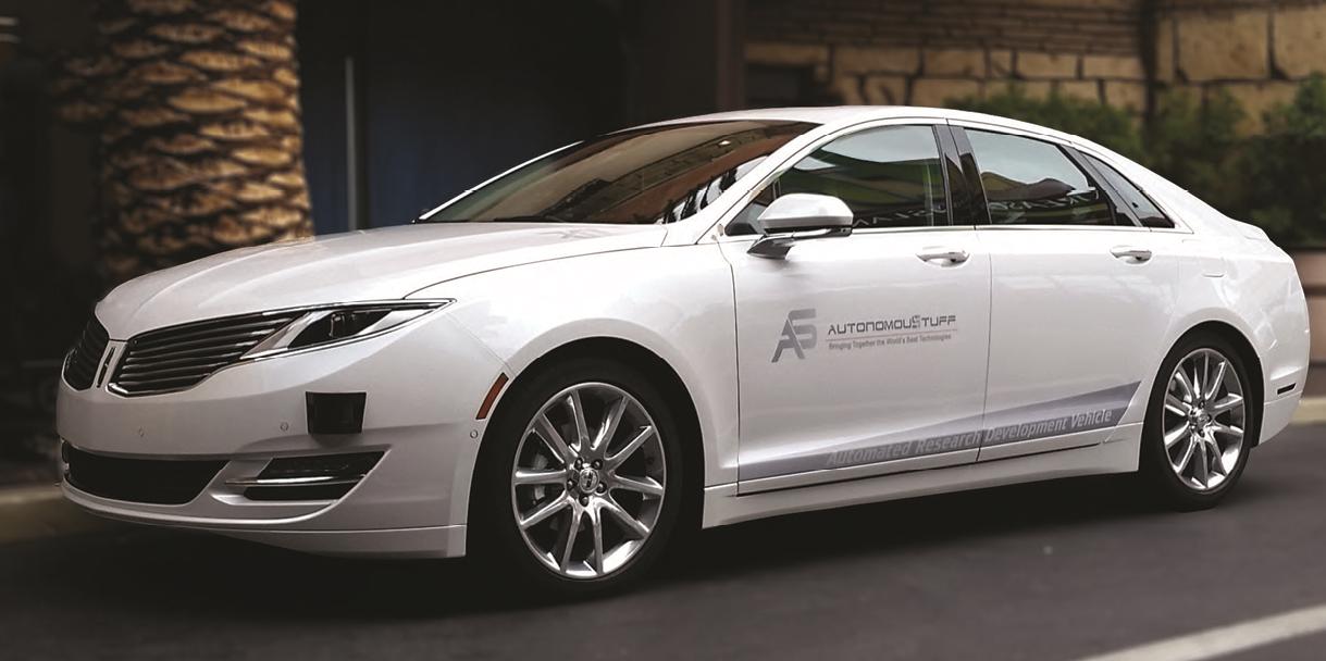 Combination of Sensors Needed for Autonomous Vehicle Development ...