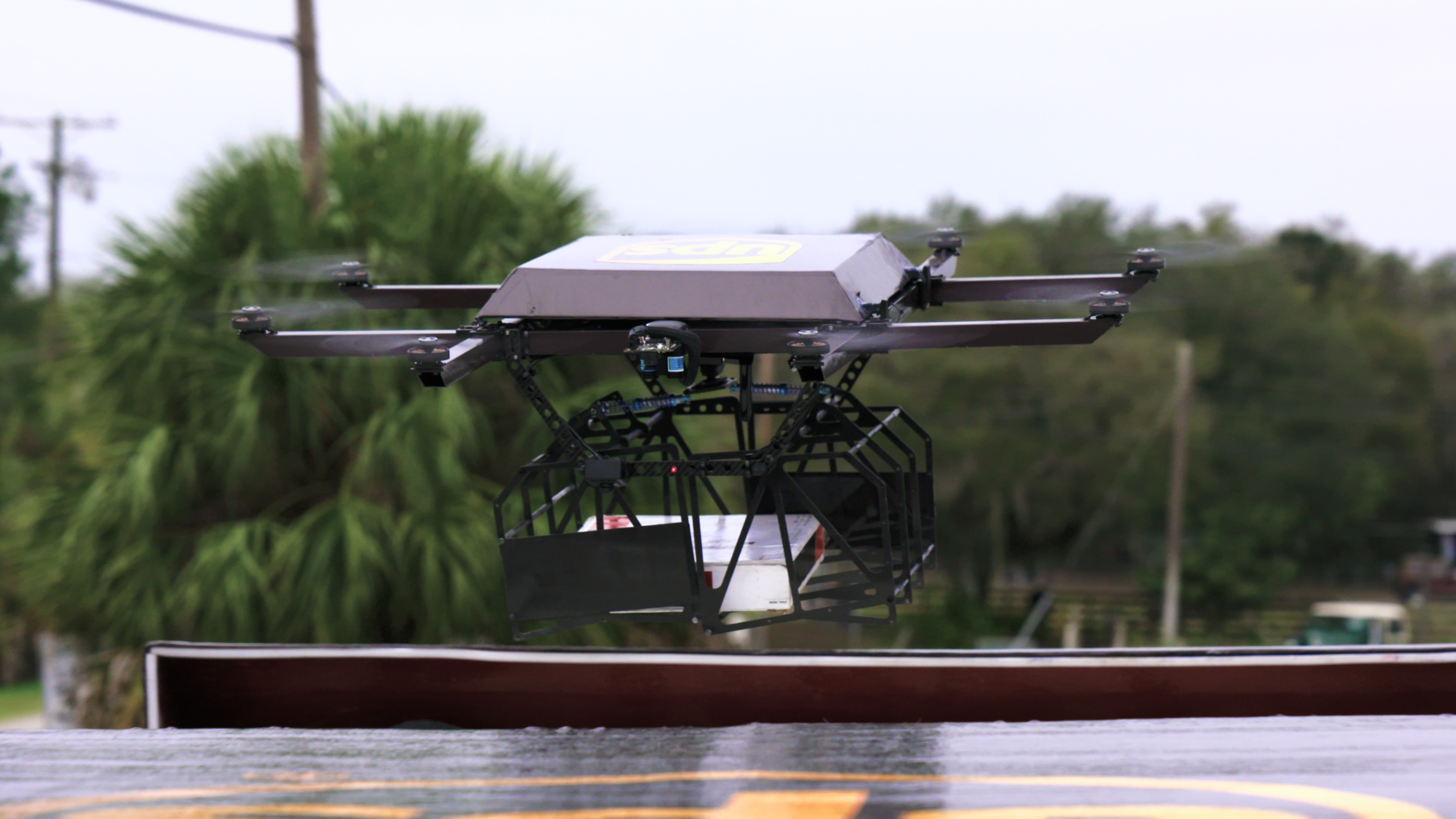 UPS tests UAV launched from delivery truck's roof