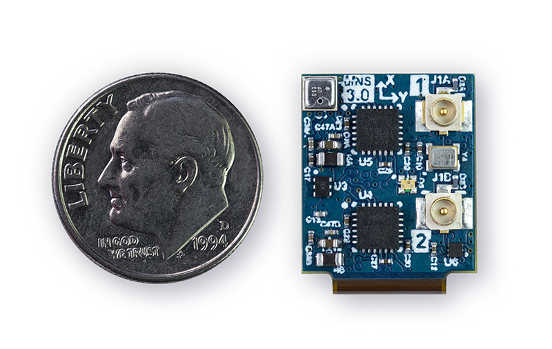 """Smallest Vehicle Navigation System : The world s smallest """"better than gps inertial navigation"""
