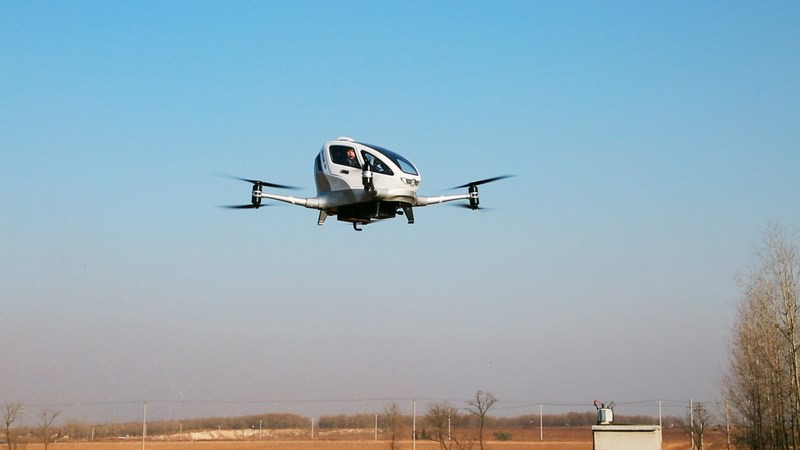 Dubai flying taxi partner conducts first passenger tests