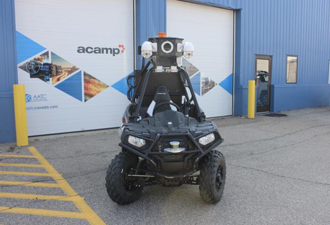 Acamp S Autonomous Security Vehicle To Patrol Edmonton