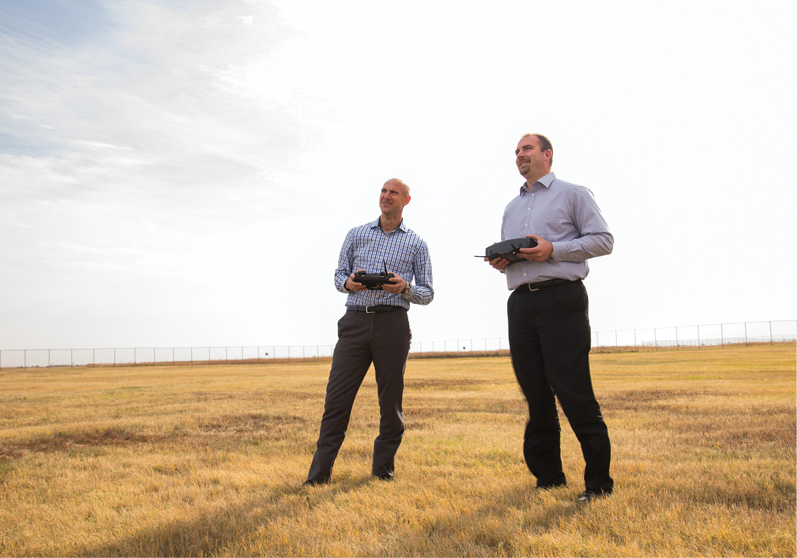 The North Dakota IPP team, lead by the state's Department of Transportation, is focusing research efforts on beyond visual line of sight flights (BVLOS) and flights over people.