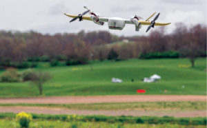 IPP Partner Wing uses a UAS with 12 rotors