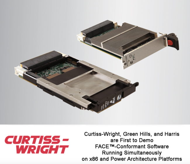 Curtiss-Wright Showcases COTS Hardware and Software Solutions for