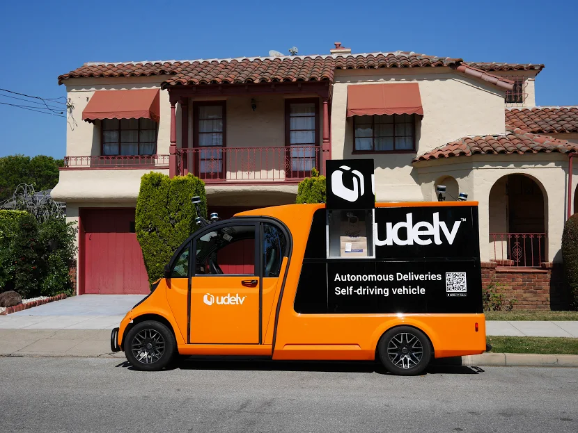 Udelv Self Driving Vans To Deliver Auto Parts In Texas For Xl Parts