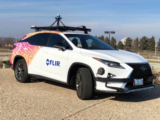 FLIR Offers City-Specific Thermal Imaging Dataset for Autonomous