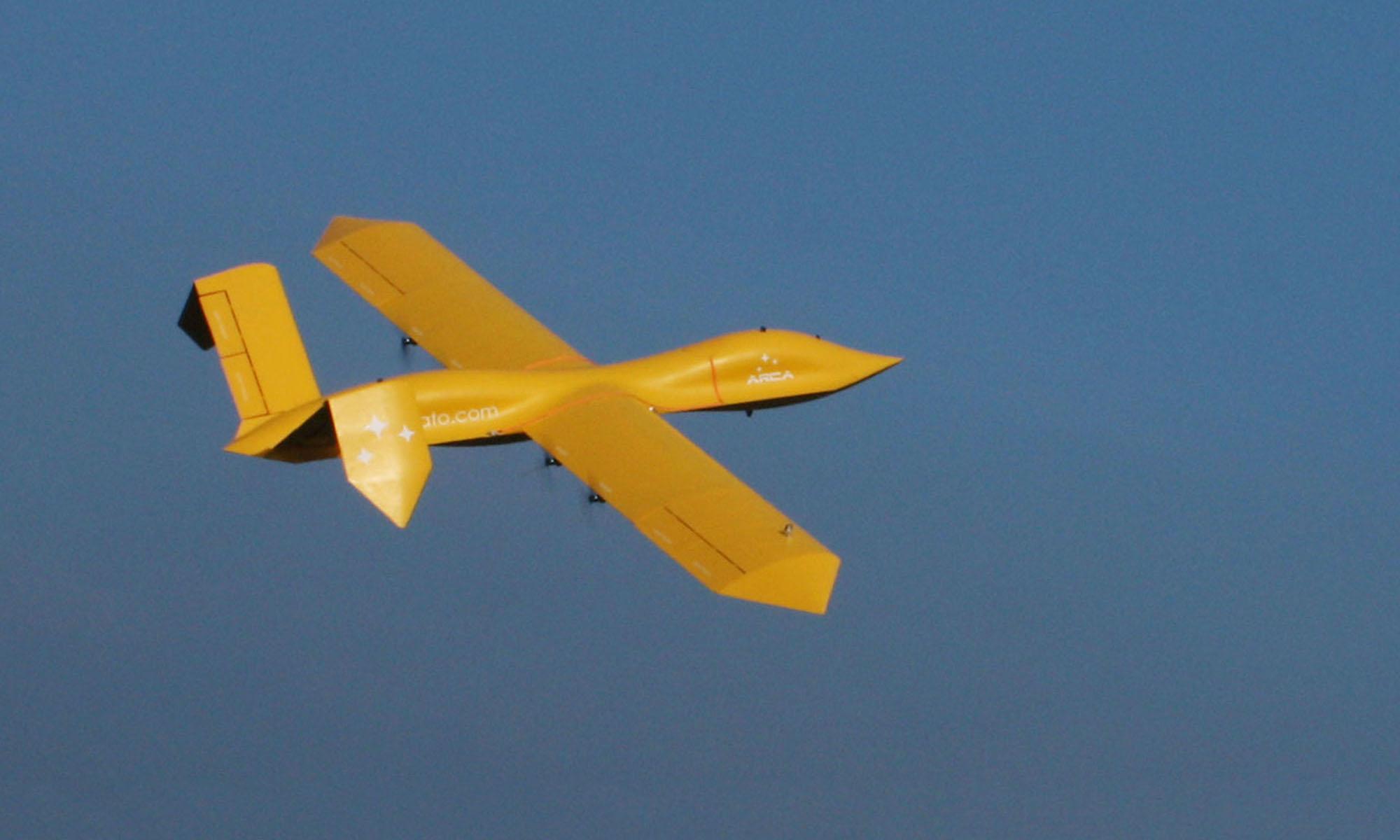 Arca's AirStrato Pioneer UAV