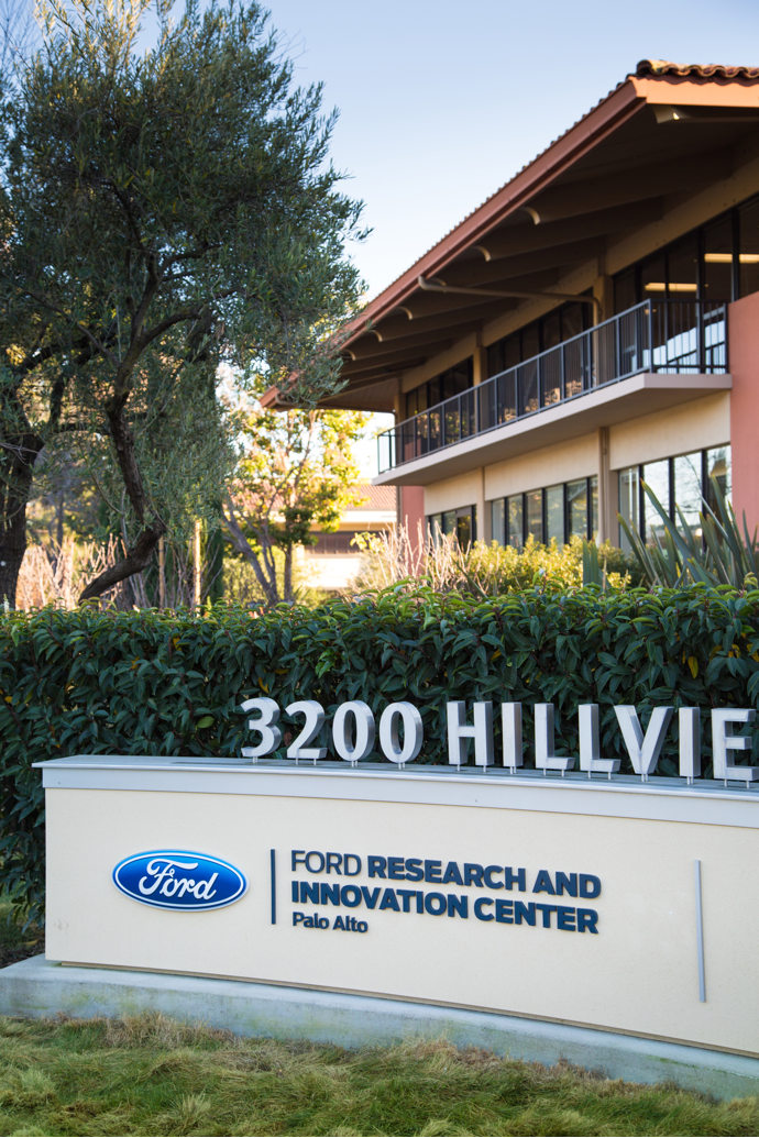 The Ford Palo Alto Research and Innovation Center team developed aDRIVE, a virtual test environment based on gaming software that will test algorithms such as traffic sign recognition in dynamic driving situations. Ford