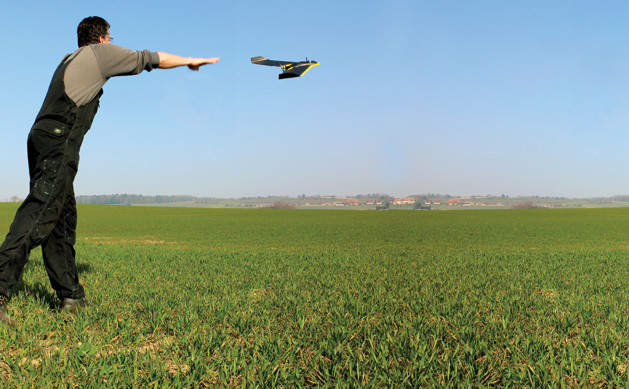 eBee Ag, courtesy of SenseFly