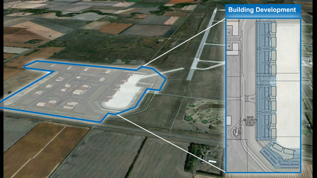 Grand Sky Development Site