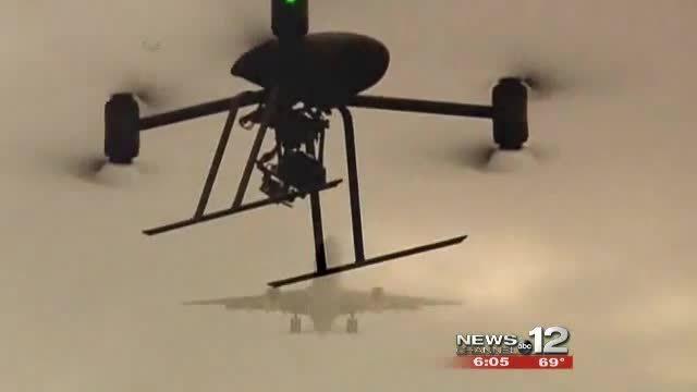 Duke Marine Lab uses UAV technology to research marine life