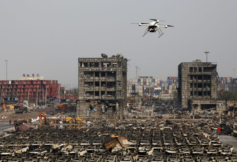 Chinese drones prove mettle in Tianjin disaster