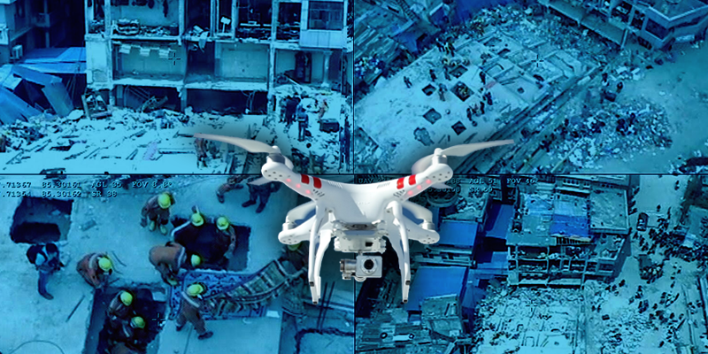 Startups deploy eyes in the sky to aid search and rescue