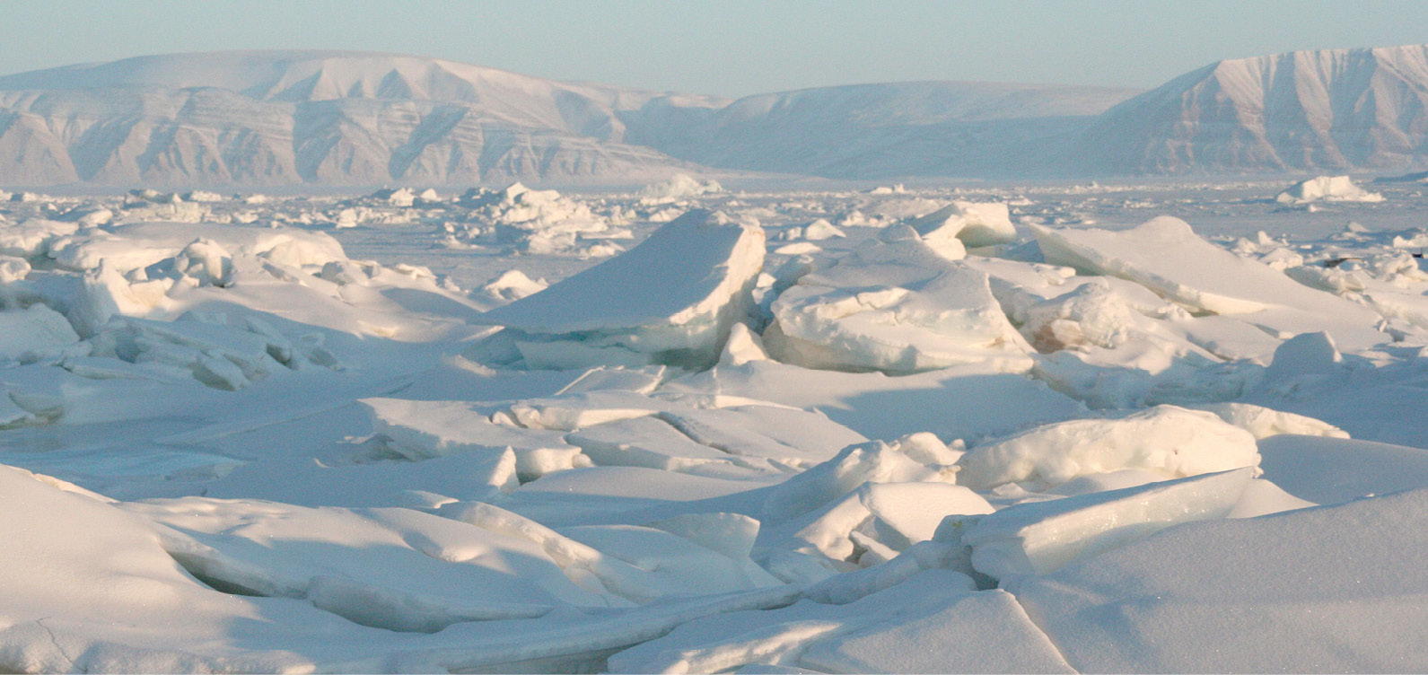 Unmanned aircraft are not stymied by the Arctic's thick, fractured sea ice. National Snow & Ice Data Center