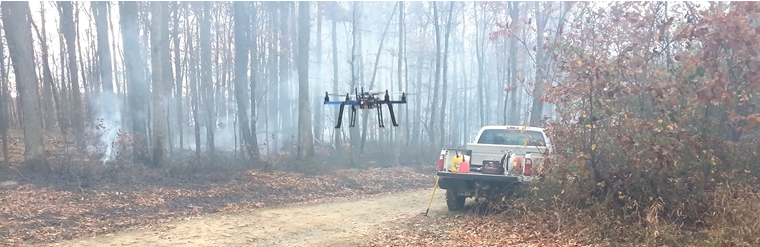 UC researchers, in collaboration with the West Virginia Division of Forestry, are building a UAS prototype equipped with vision and infrared cameras. Manish Kumar, U. of Cincinnati