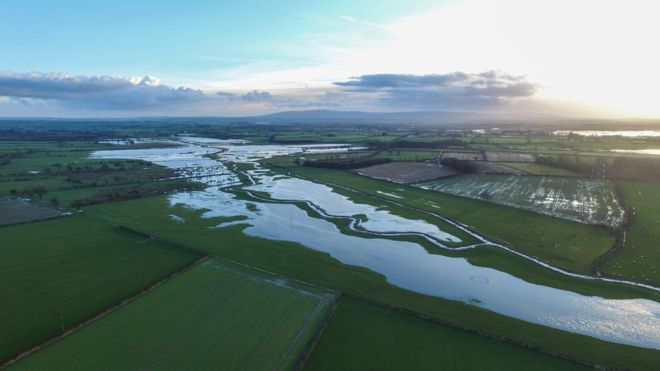 UK floods: Drone provides researchers with unique data