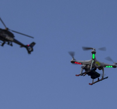 UK Police May Use Drones To Monitor Protests, Siege Operations
