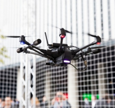 Telecoms join to drive drones for network quality