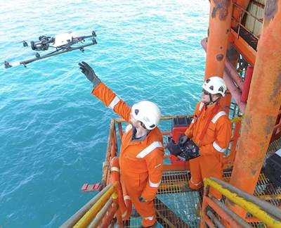 Cyberhawk Completes Offshore ROAV Inspection in N. America