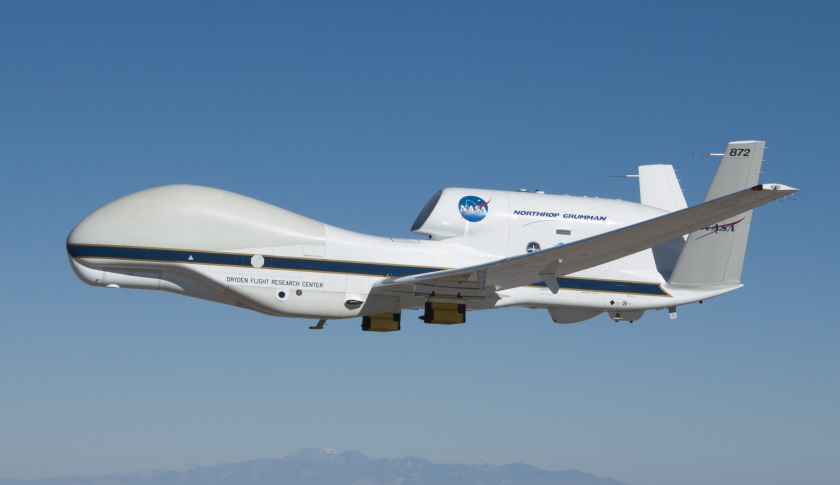 NASA Is Flying A Huge Drone Over Hurricane Matthew