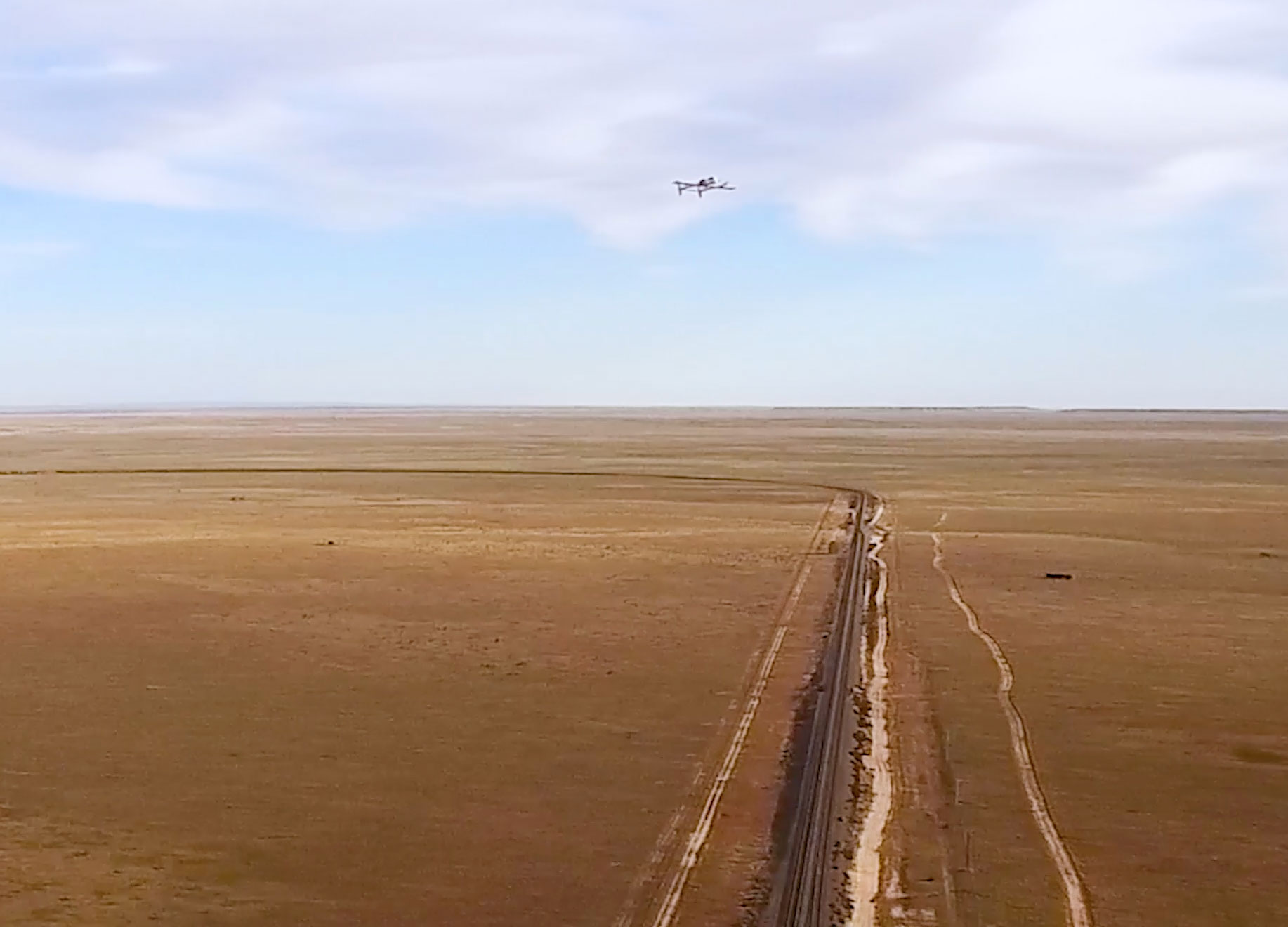 Drones Help Bihrle Applied Research, BNSF Railway