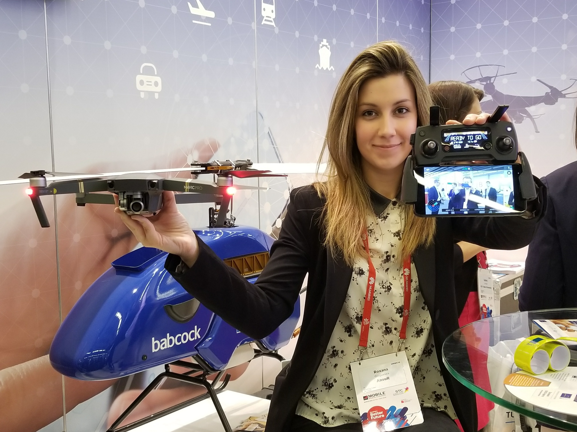 MWC Features Drones, Autonomous Vehicles and Location
