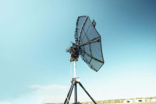 Persistent Systems' Auto-Tracking Antenna System Designed to