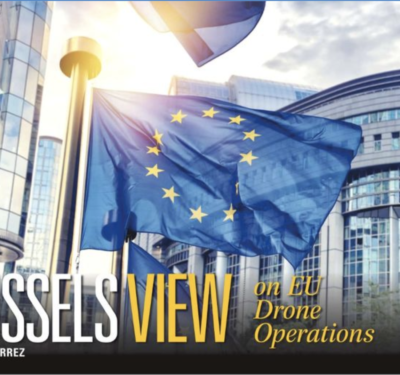 Brussels View by Peter Gutierrez