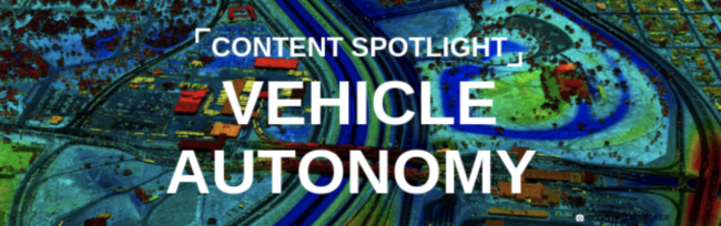 Learn More About 3 Ways LiDAR is Driving Vehicle Autonomy