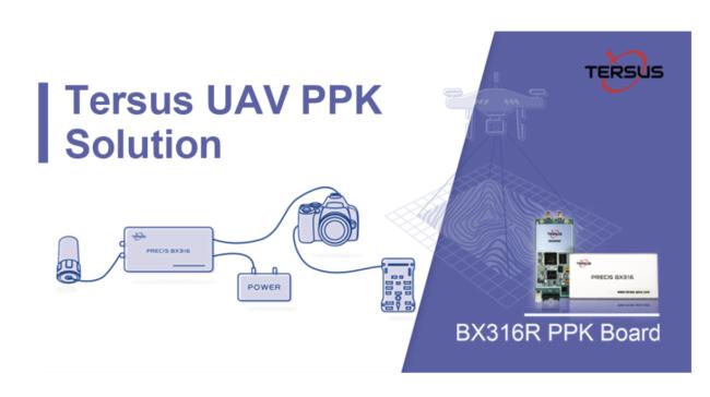 Tersus Offering a Practical Solution for UAV PPK