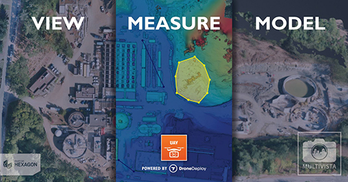 Multivista and DroneDeploy Partner to Create Drone Mapping