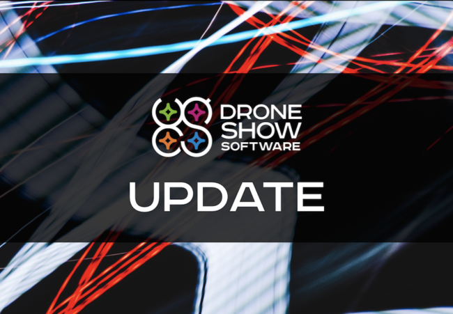 Drone Show Software Update Delivers New Moves, Improved
